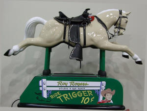 roy rogers trigger horse ride