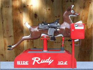Rudolph The Red Nose Reindeer Coid Ride