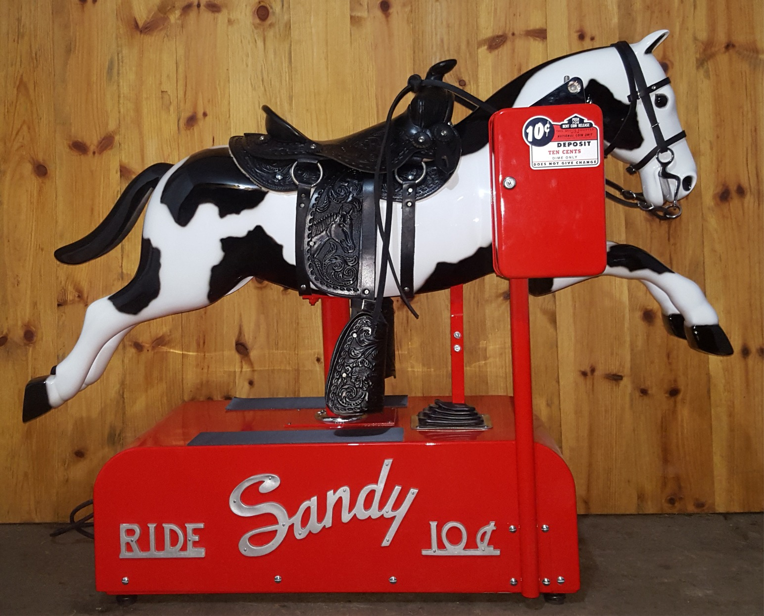 Sandy Coin Horse Ride